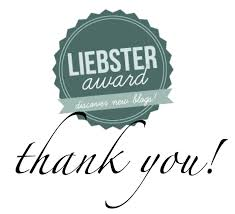 Liebster award thank you banner