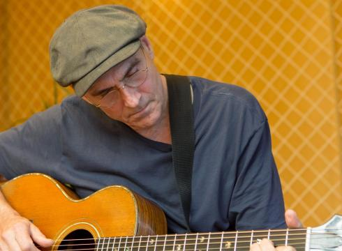 James Taylor yellow background