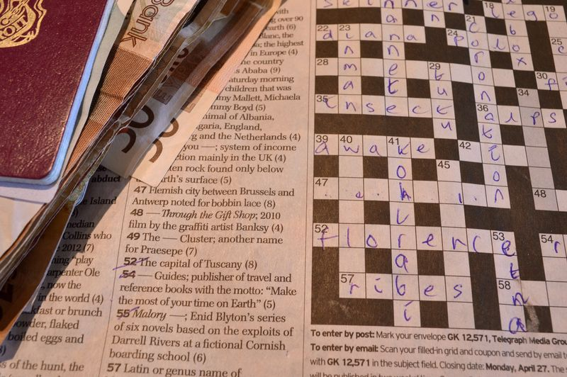 Crossword pic m