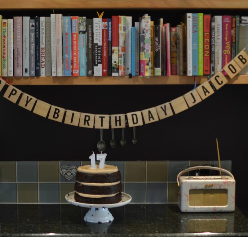Jacobs birthday cake