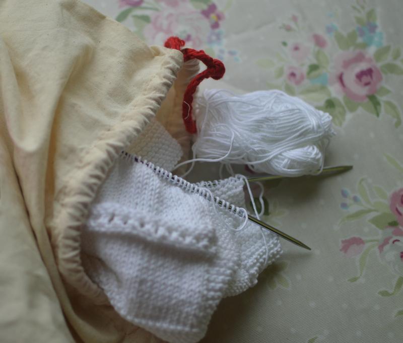 Baby blanket bag